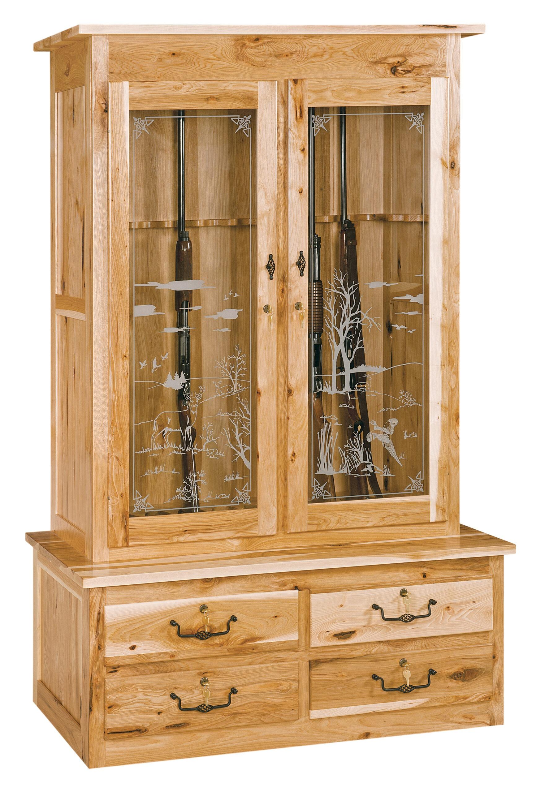 2 Door Gun Cabinet and Accessories