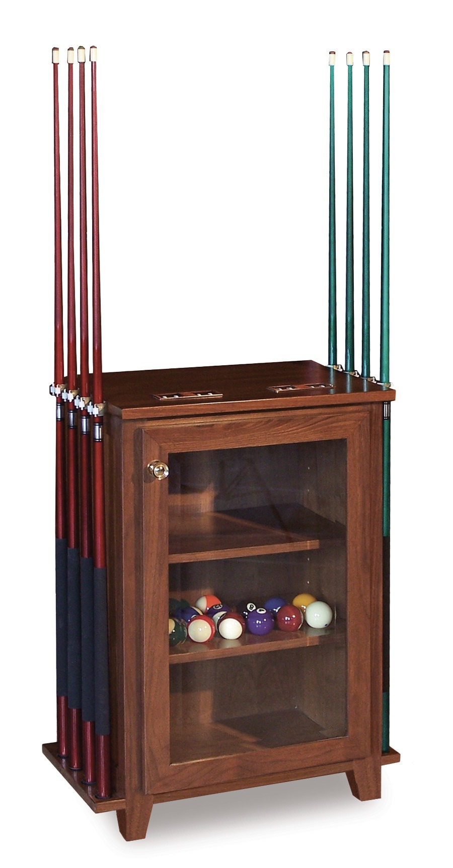 Pool and Game Accessories-Cabinet