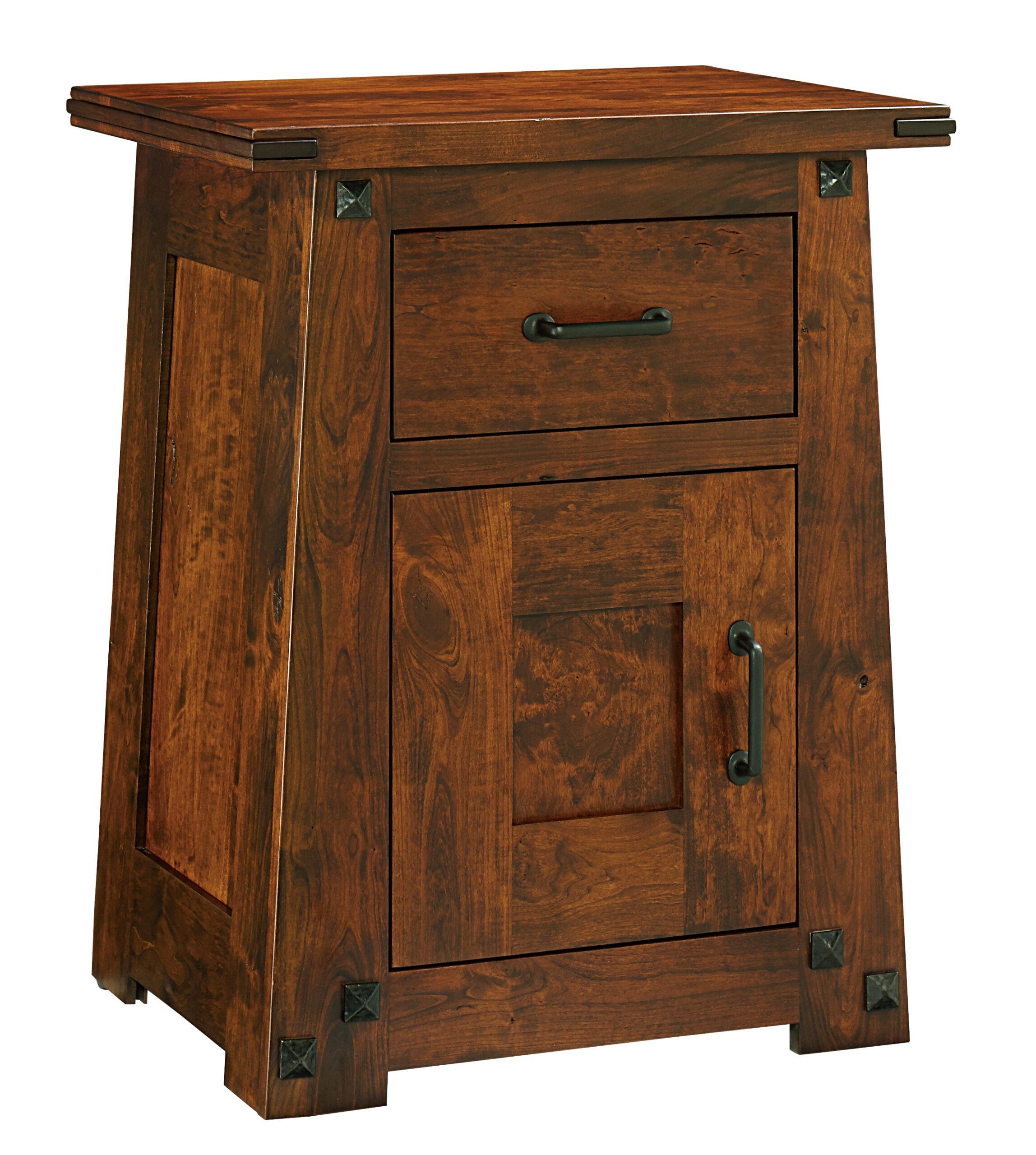 Encada Nightstand With Door