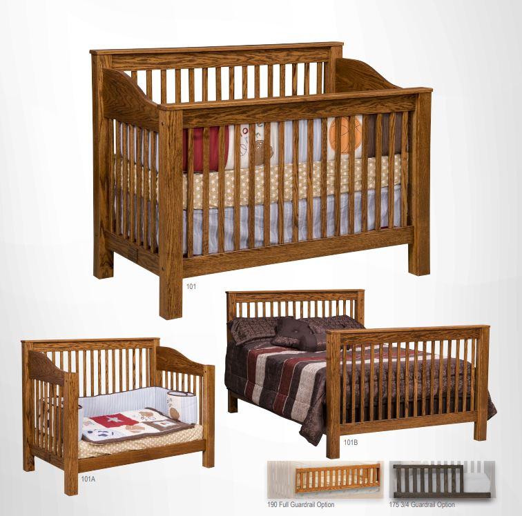 Mission Crib Collection