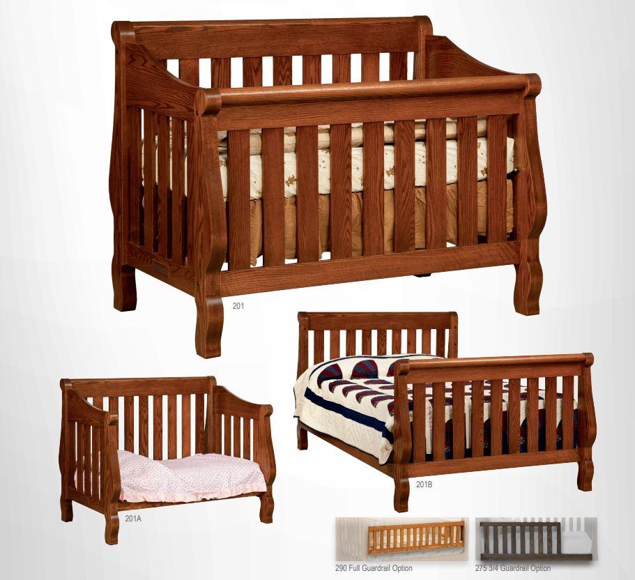 Sleigh Crib Collection
