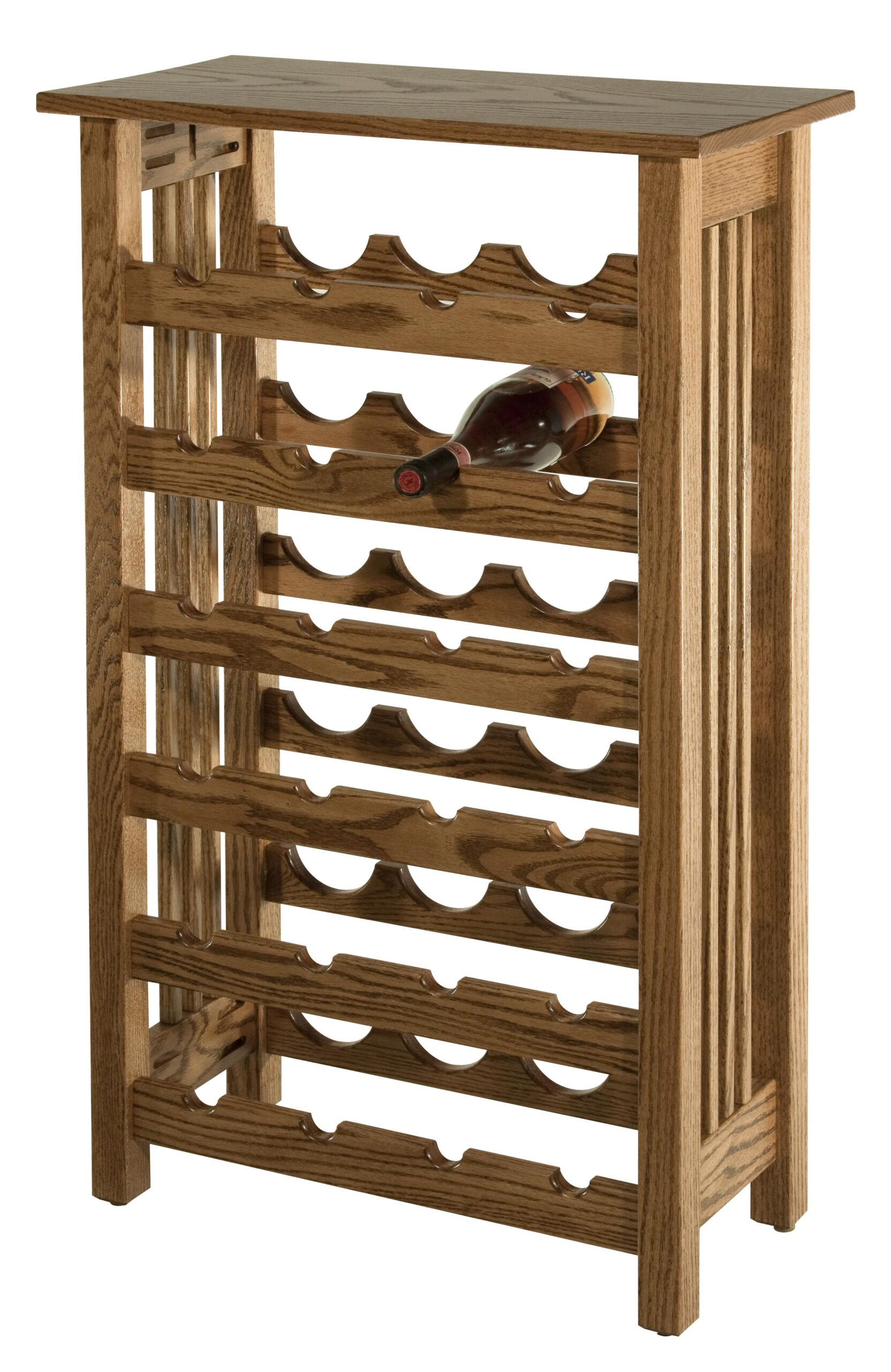 M100805 Mission Wine Rack